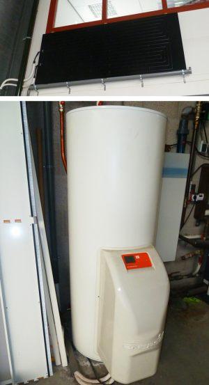 Thermopaneel + Warmtepomp